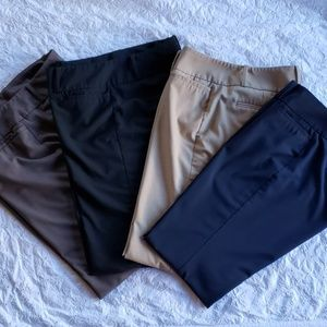 The limited drew fit bundle of 4 pants 6R
